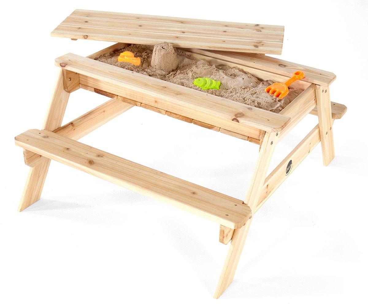 Plum houten zand & picknicktafel