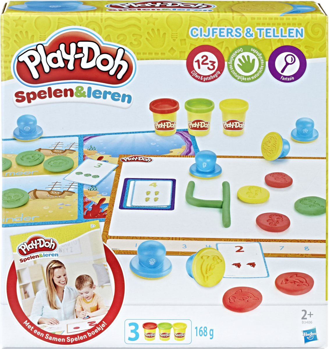 Play-Doh Cijfers En Tellen - Klei Speelset