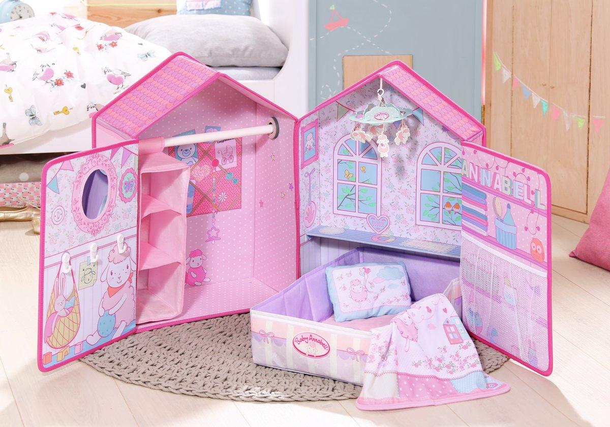 Slaapkamer Voor Baby.Bol Com Baby Annabell Slaapkamer Zapf Creation Speelgoed
