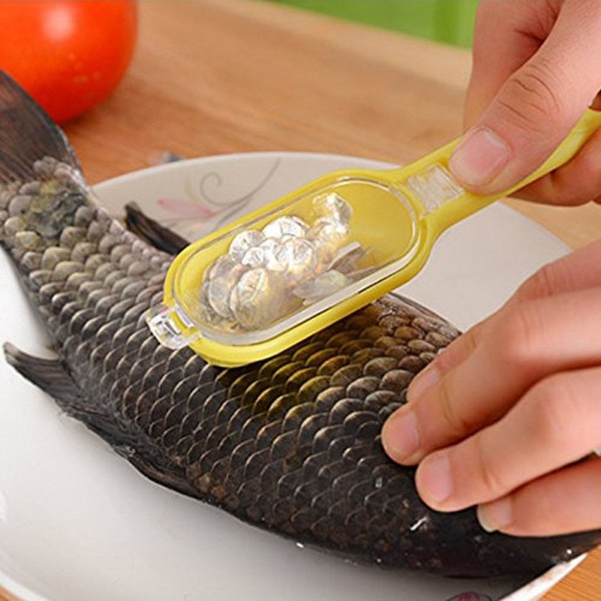 Bersihkan ikan