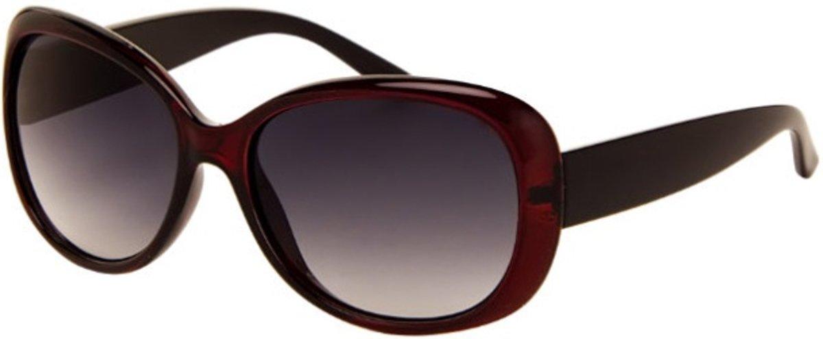 Az-eyewear Zonnebril Dames Bruin Met Grijze Lens (290 P) kopen