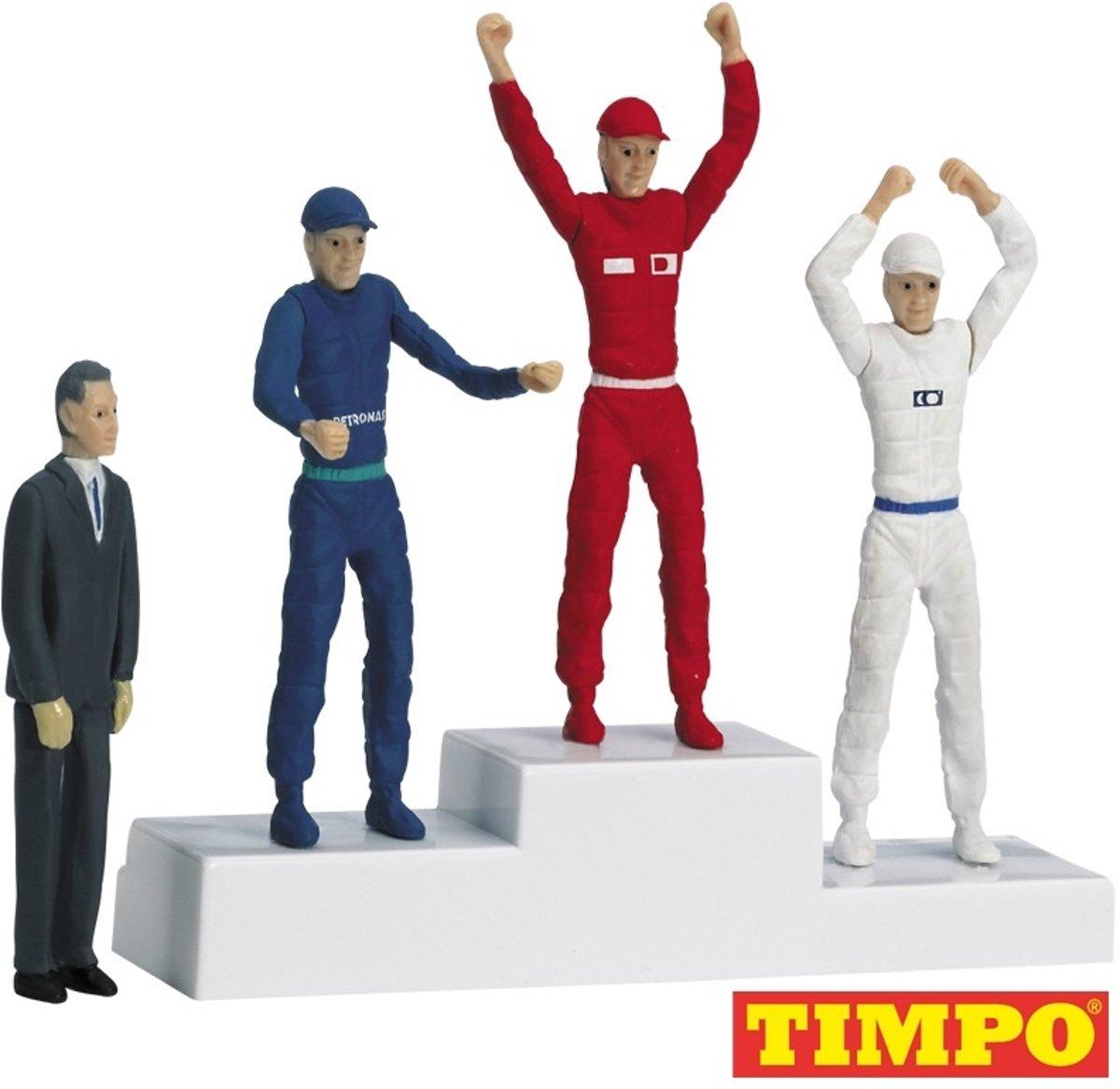 Carrera Winnerspodium met figurenset - racebanen - 1:32 - 1:24