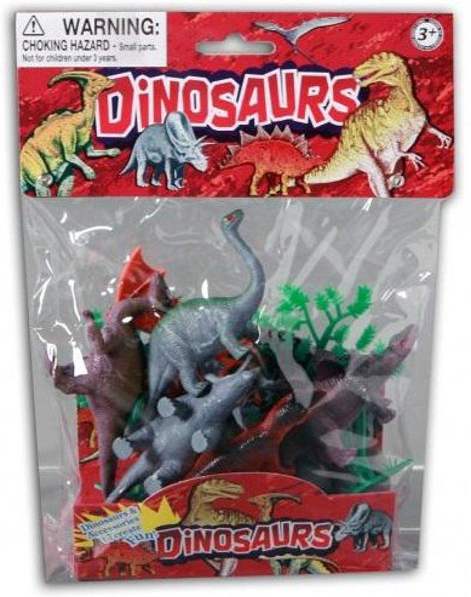 Jonotoys speelset Animal World dinosaurus 6 stuks kopen