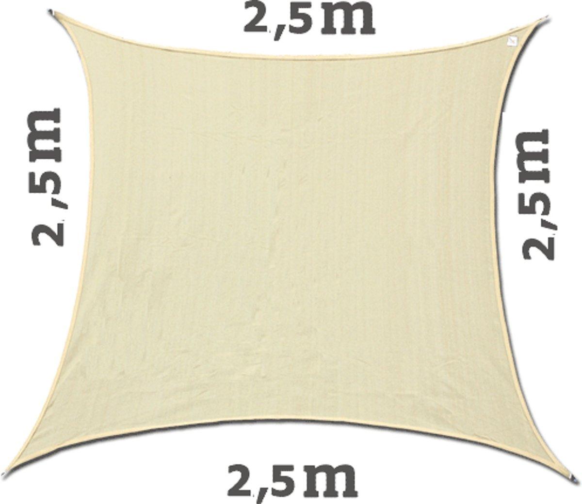 Schaduwdoek 2 5x2 5.Bol Com Zonnezeil Waterdicht Schaduwdoek Vierkant 2 5x2 5 Grijs