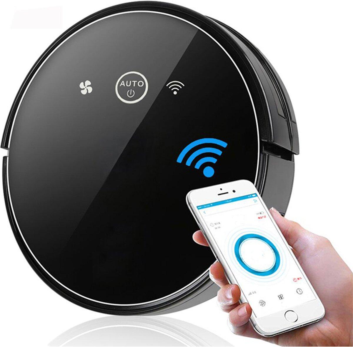 Looki X3 Slimme Robotstofzuiger met Dweilfunctie en App – WiFi en Afstandsbediening - Zwart kopen