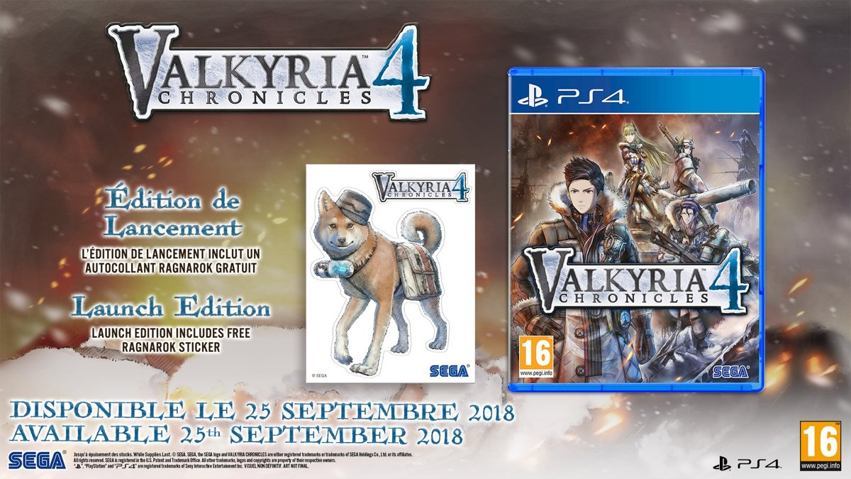 Valkyria Chronicles 4 PlayStation 4
