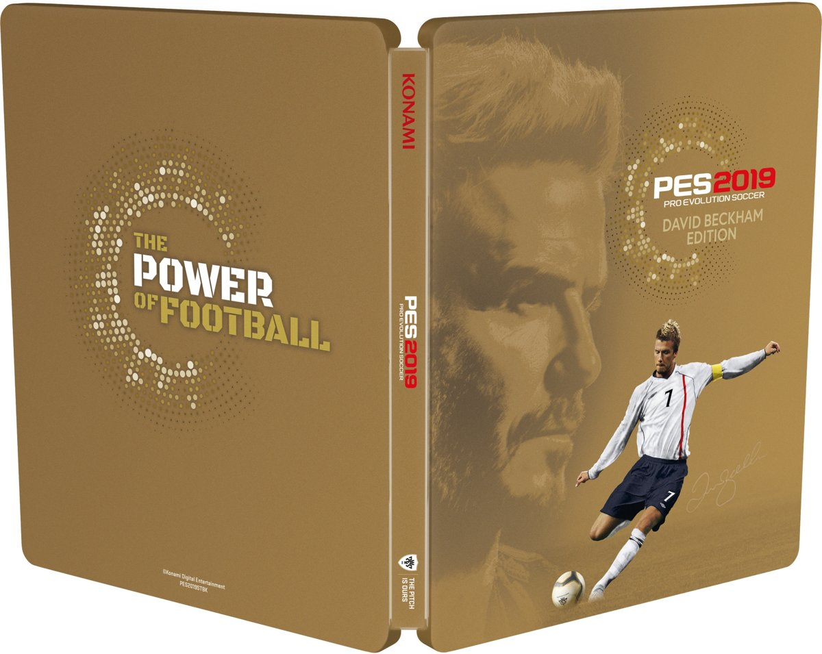 Pro Evolution Soccer 2019 PES - David Beckham Edition PlayStation 4