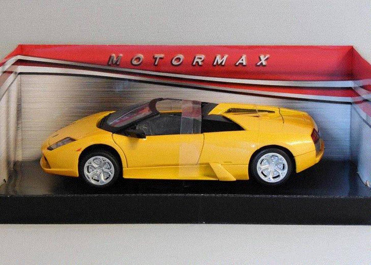 Lamborghini Murciélago Roadster 1:24 Motor Max Oranje