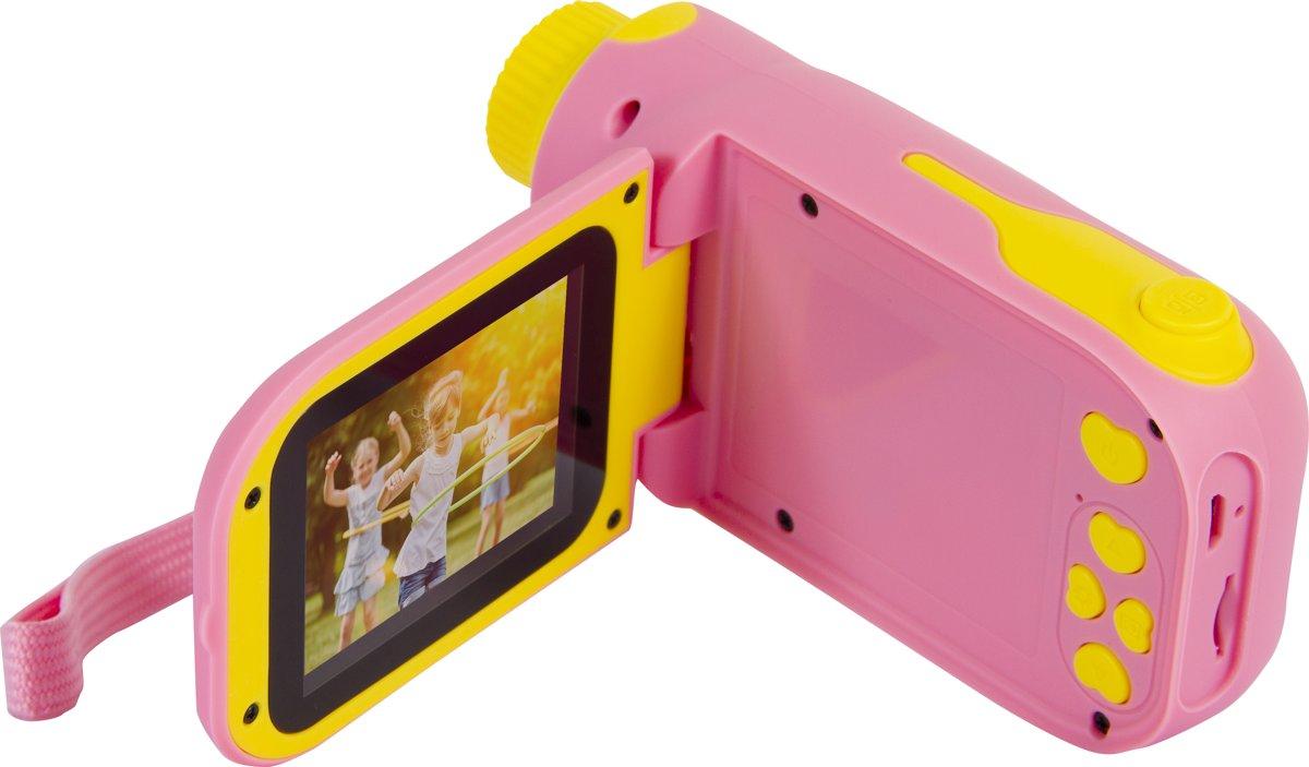 Silvergear Kindercamera Filmcamera Roze
