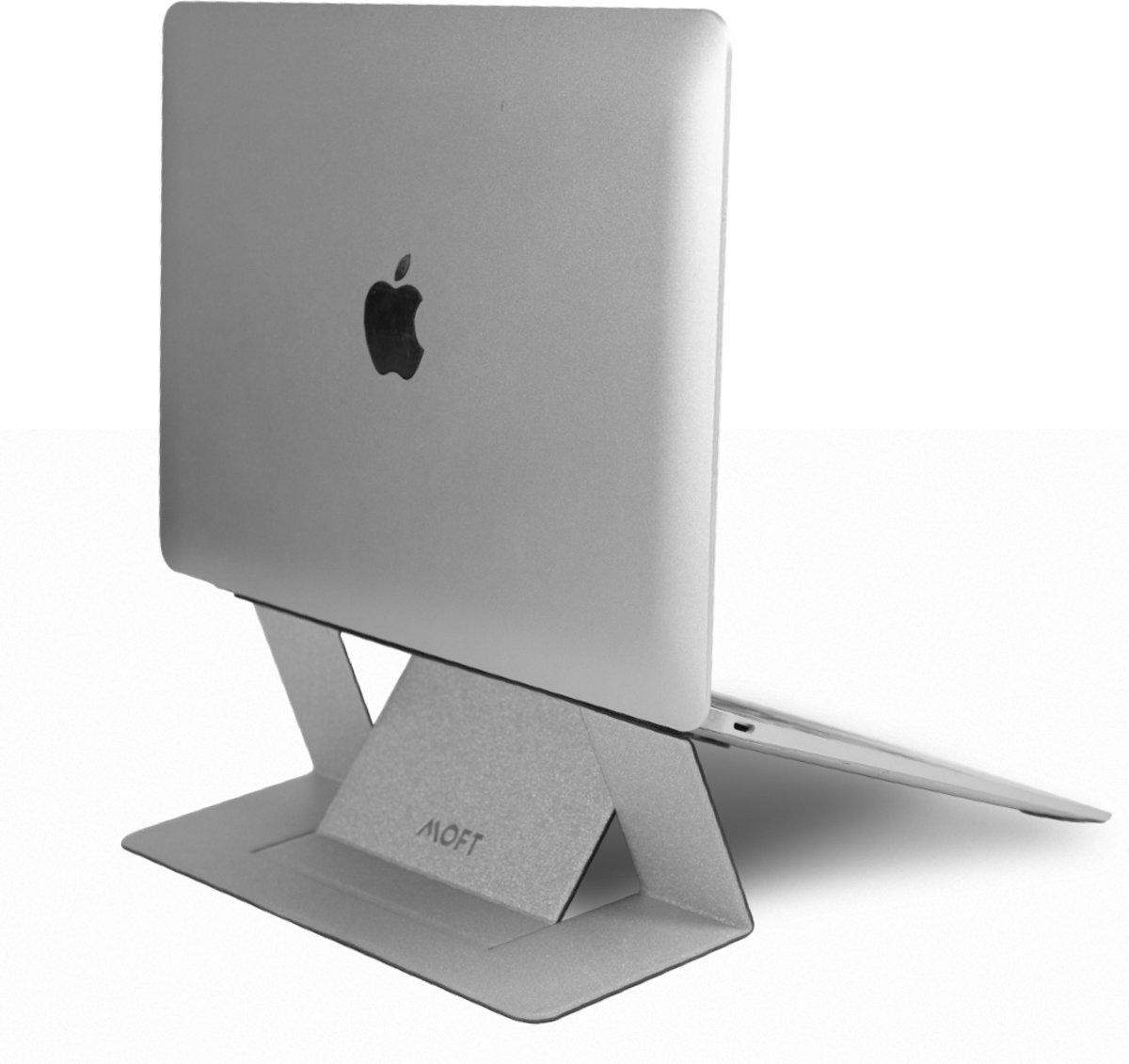 MOFT laptopstandaard zilver kopen