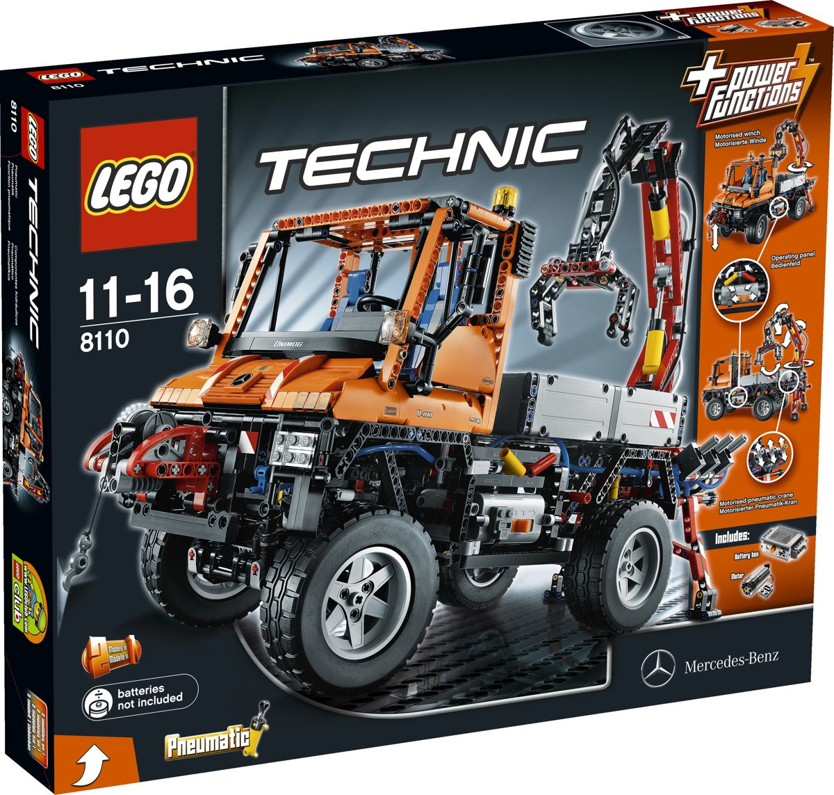 LEGO 8110 Mercedes Unimog U400