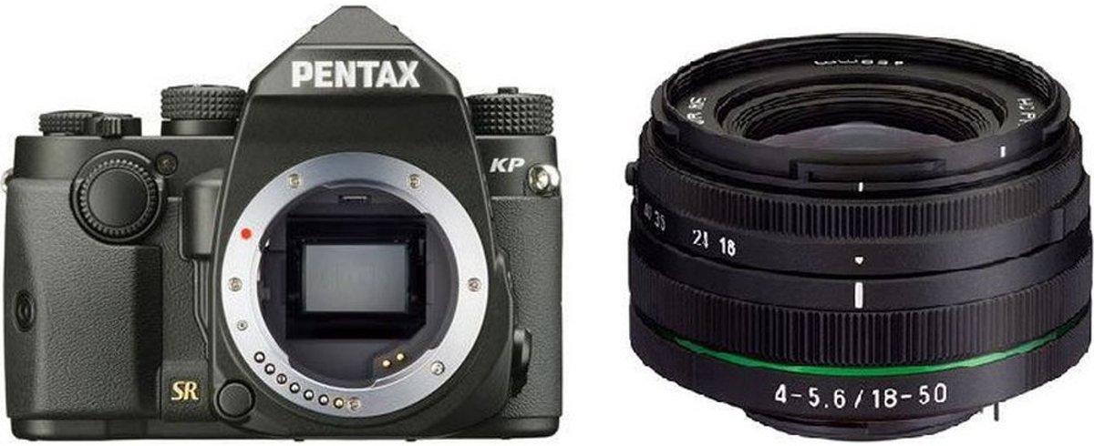 Pentax KP Body + 18-50mm - Zwart