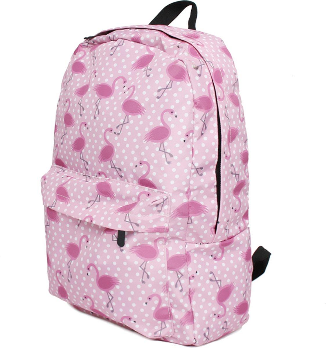 10cd3d64c56 ... Flamingo Rugzak - 20 Liter - Hippe Rugtas voor de Basischool -  EmojiShop.nl ...