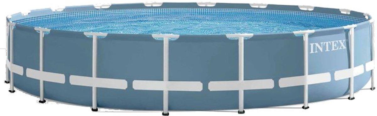 Intex Prism Frame Opzetzwembad Met Accessoires 457 X 84 Cm Blauw