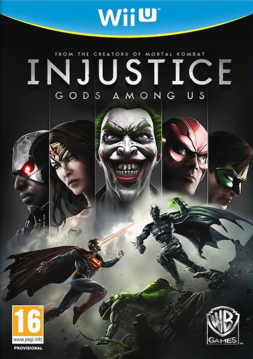 Injustice: Gods Among Us /Wii-U kopen
