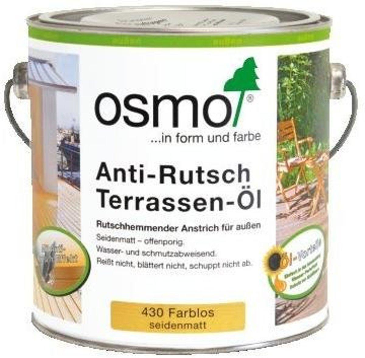 Osmo Buitenhout 430 UV Anti-Slip Terrasolie (kies hier uw inhoud) kopen