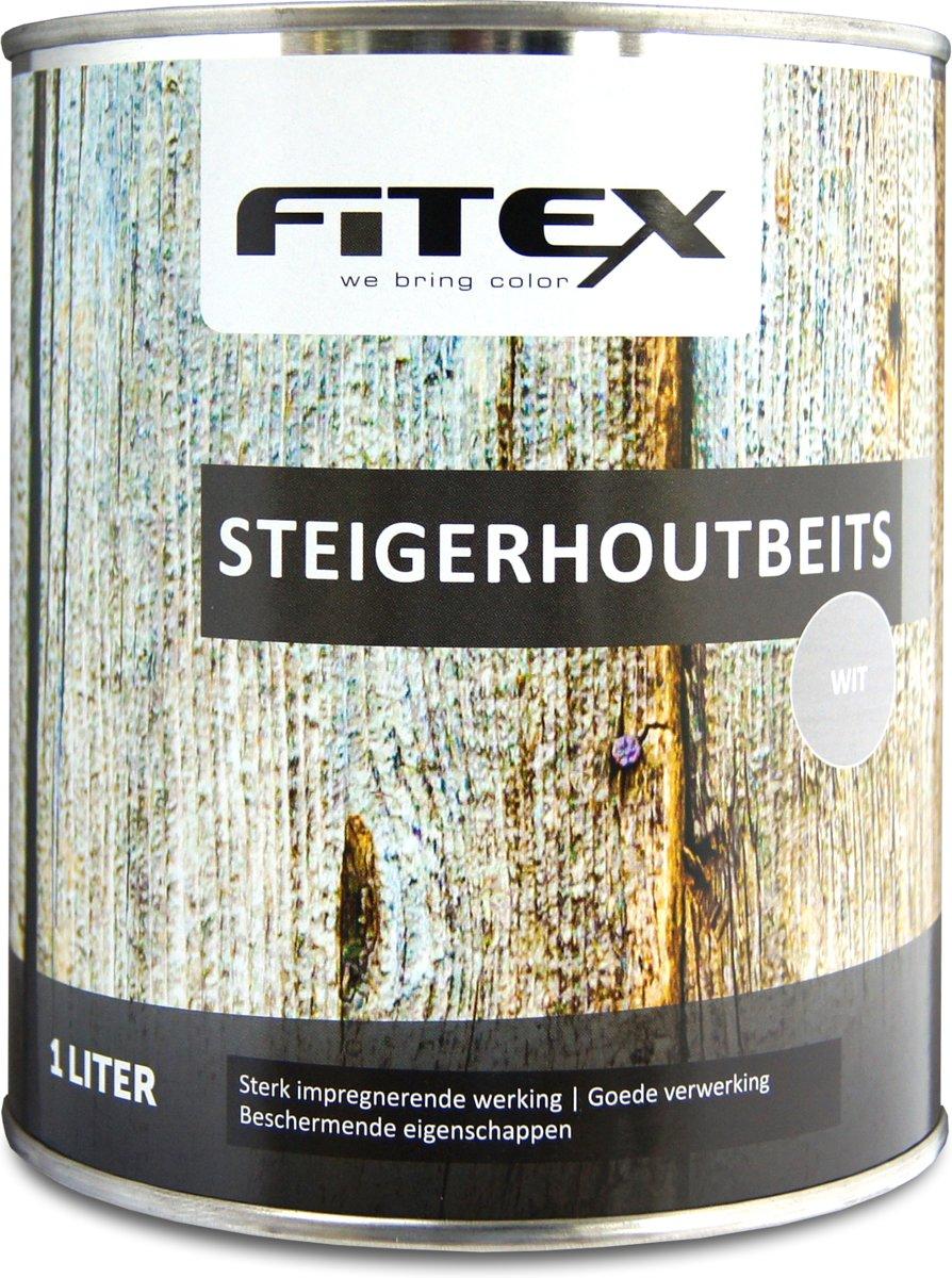 Fitex Steigerhoutbeits - Wit - 1 liter