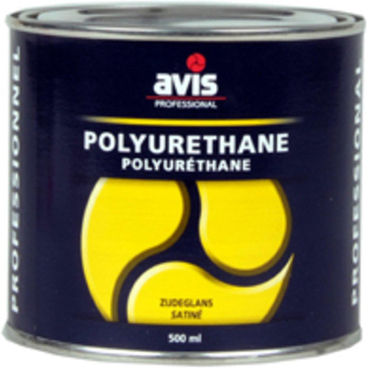 Avis Polyurethane Mat Blanke Lak - 500 ml