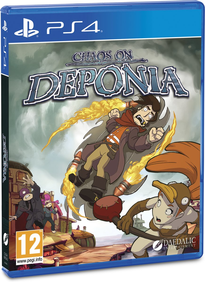 Chaos on Deponia PlayStation 4