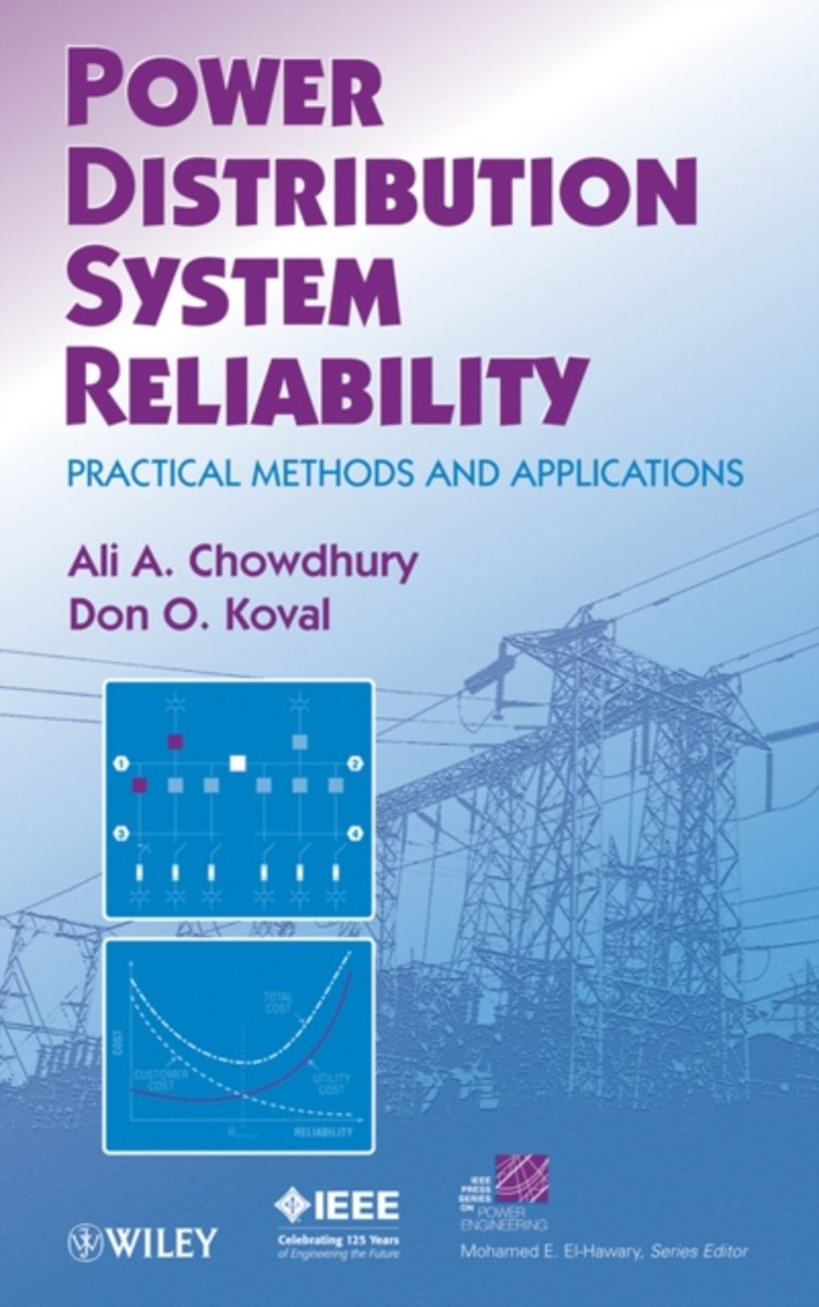 bol.com | Power Distribution System Reliability, Ali Chowdhury |  9780470292280 | Boeken