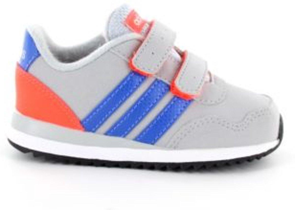 adidas V Jog Kids Sneaker Kinderen Grijs maat 18