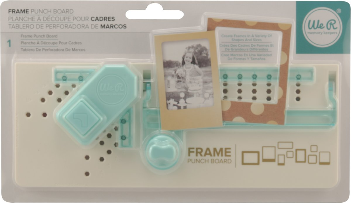 We R Memory Keepers Punch Board Frame kopen