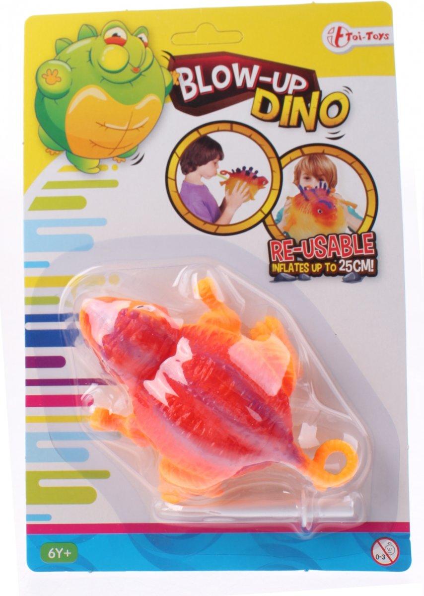 Toi-toys Blow-up Dino 25 Cm Oranje kopen