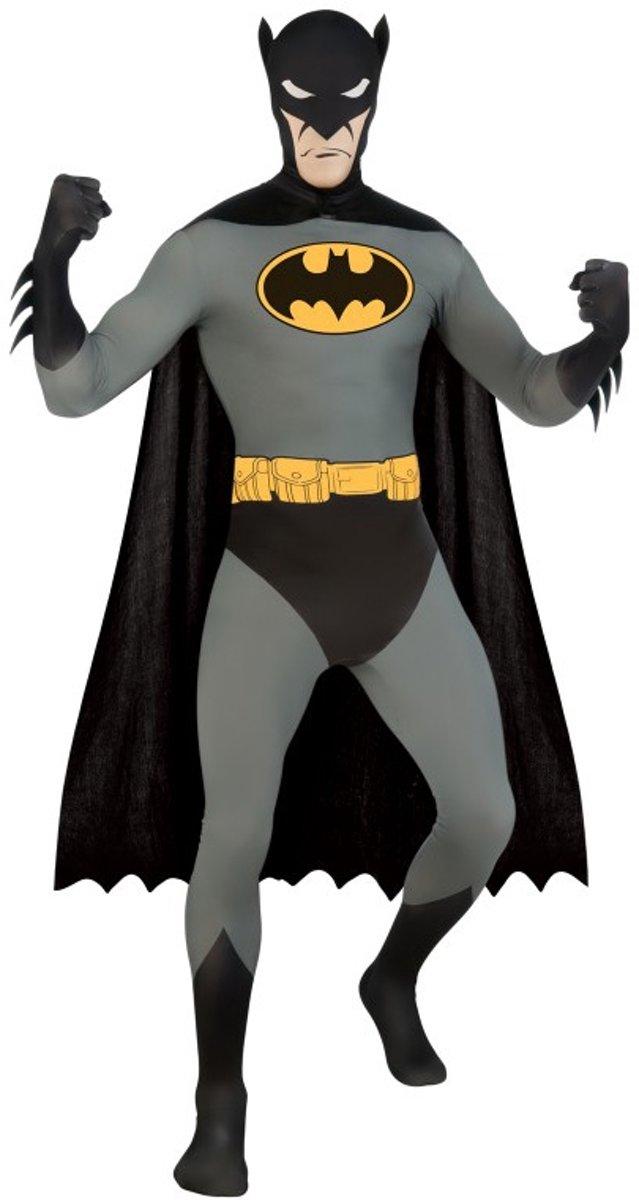 """""""Kostuum van een tweede huid van Batman™ voor volwassenen - Verkleedkleding - Small"""" kopen"""