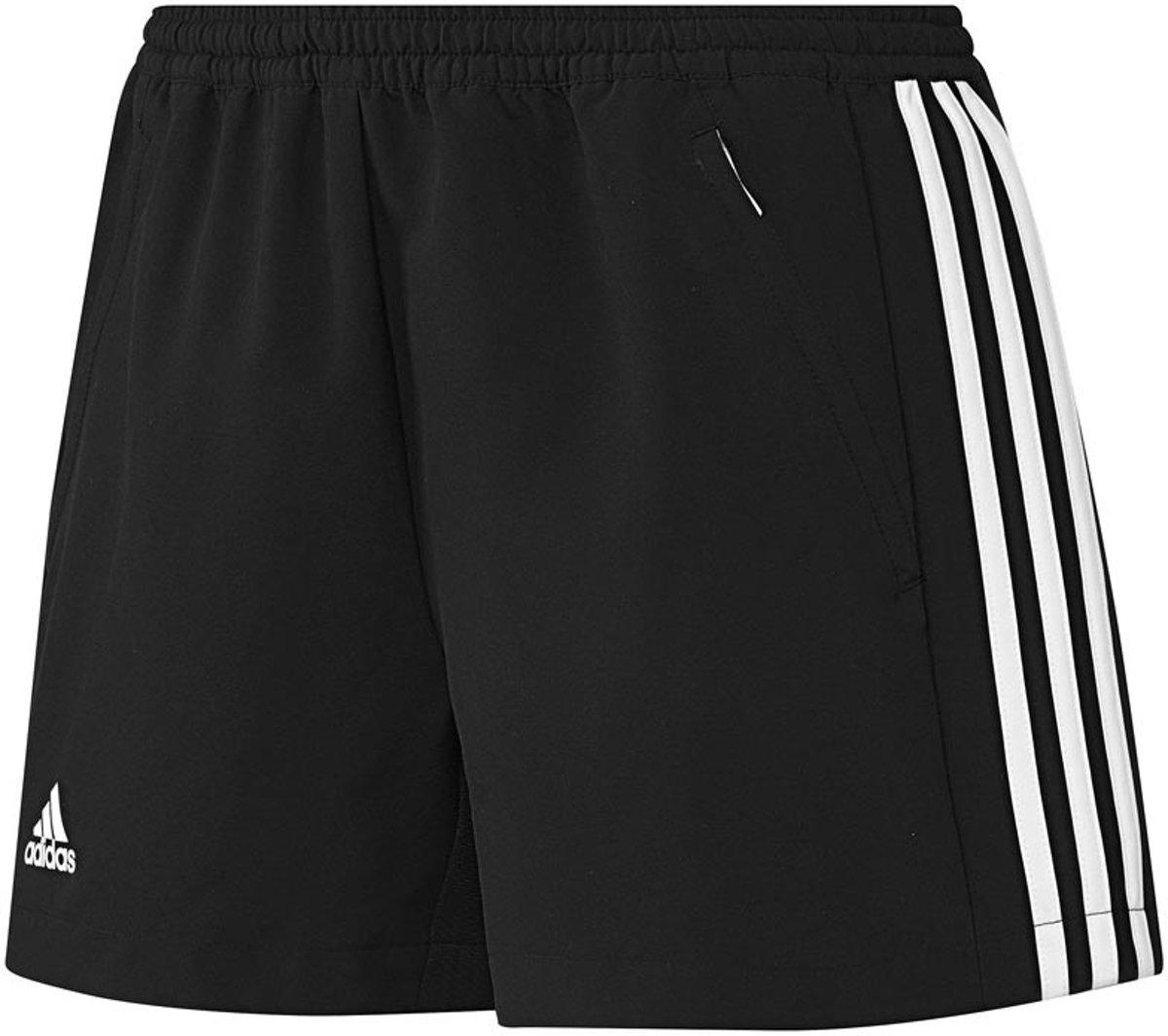 adidas T16 'Oncourt' Short Dames Shorts zwart L