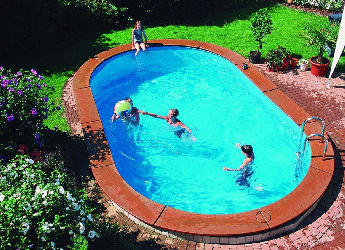 Zwembad Galaxy Ovaal 700 x 350 cm inbouw