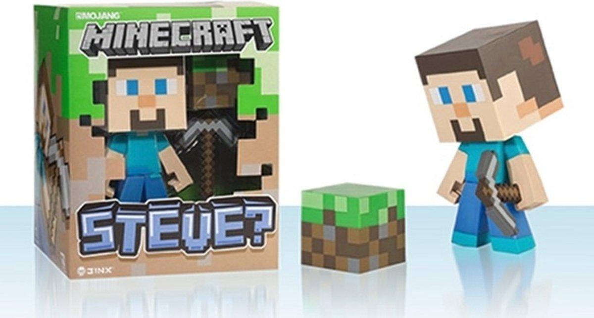 Actiefiguur Minecraft Vinyl Steve