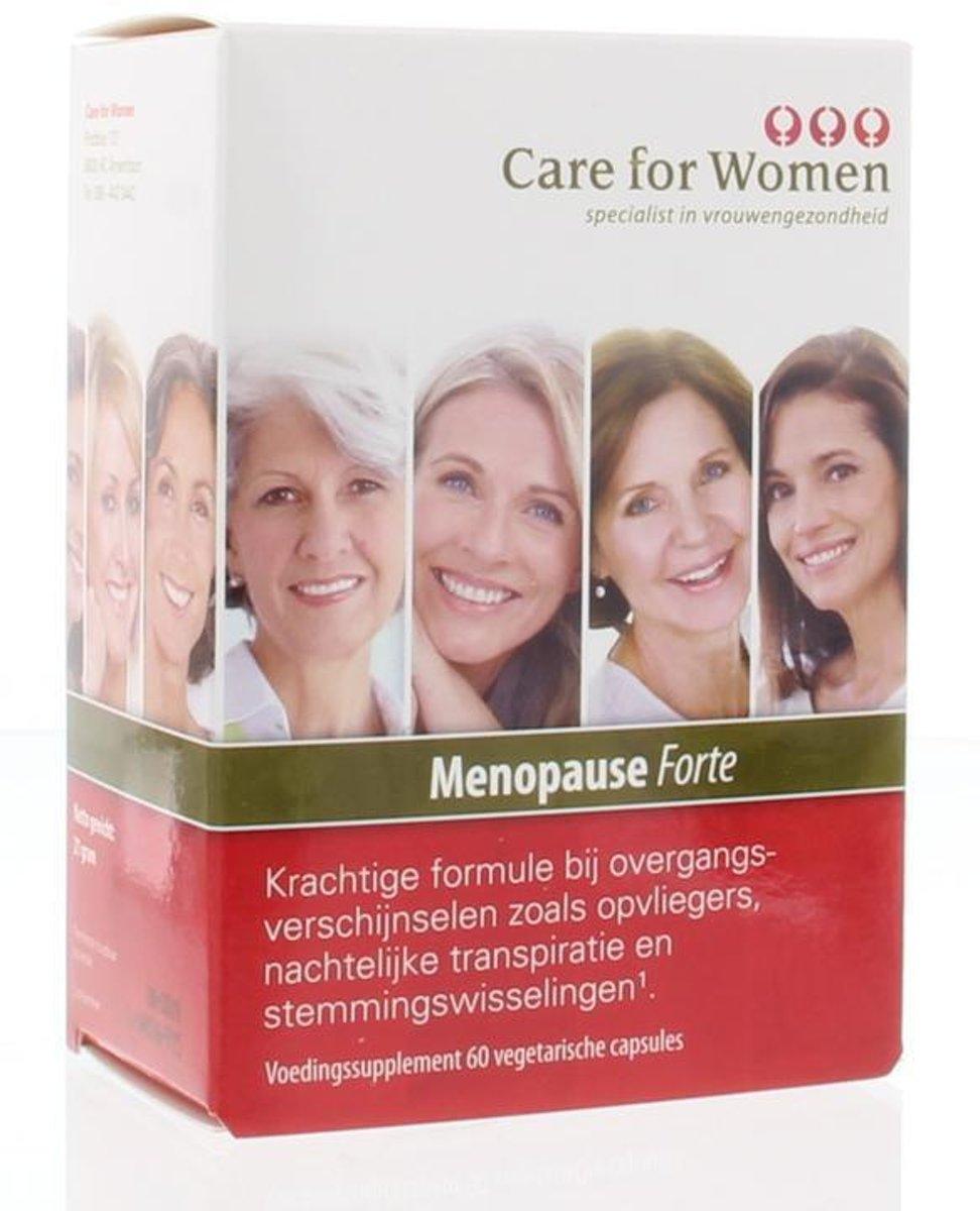 Foto van Care for Women Menopauze Forte - 60 Capsules - Voedingssupplement