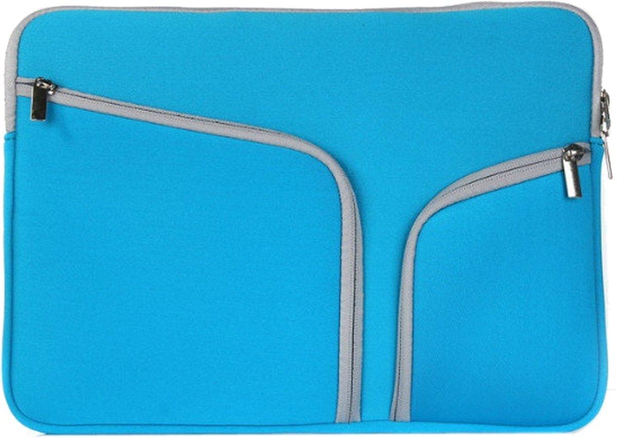 58607bbbb7c bol.com | Mobigear Neopreen Laptoptas Blauw voor Macbook Air 11 inch