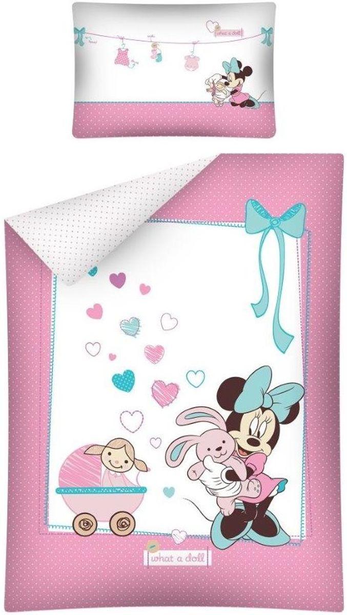 BABY Dekbed Minnie Mouse What a Doll Ledikant kopen