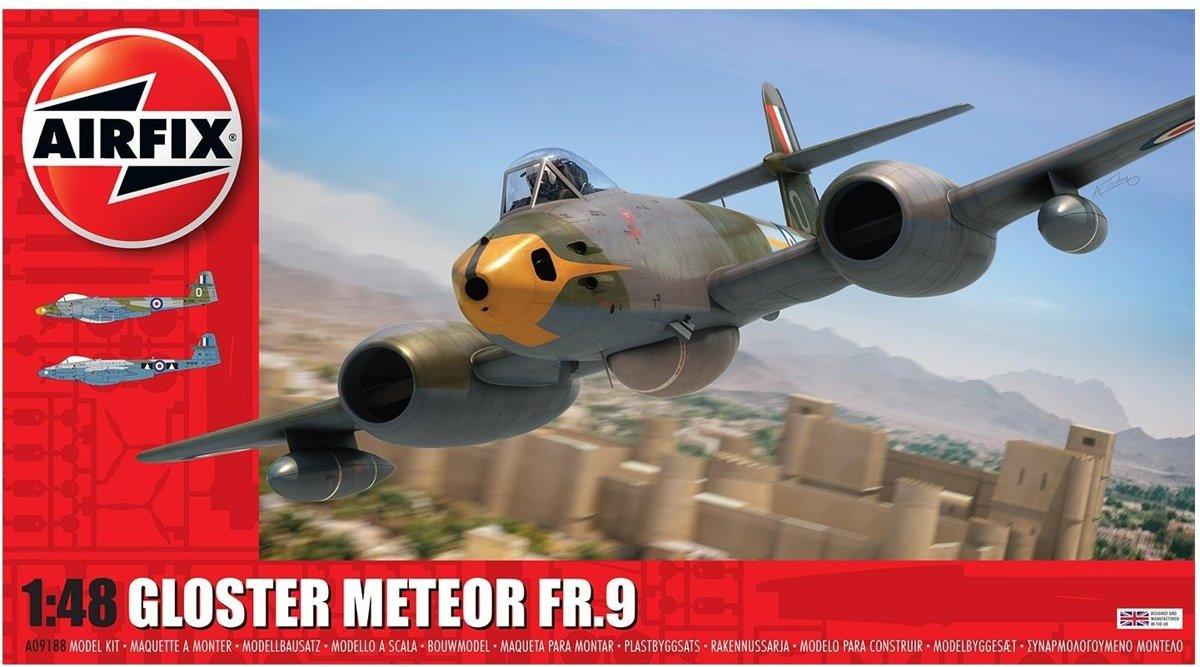 Airfix - Gloster Meteor Fr9