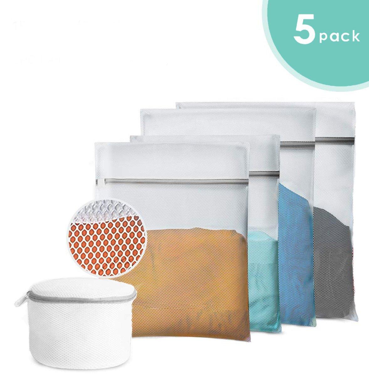 XXL Waszak Hoge Kwaliteit Met Rits Voor BH of Lingerie - Wasnet - Laundry Bag - Set van 4 in verschillende afmetingen kopen