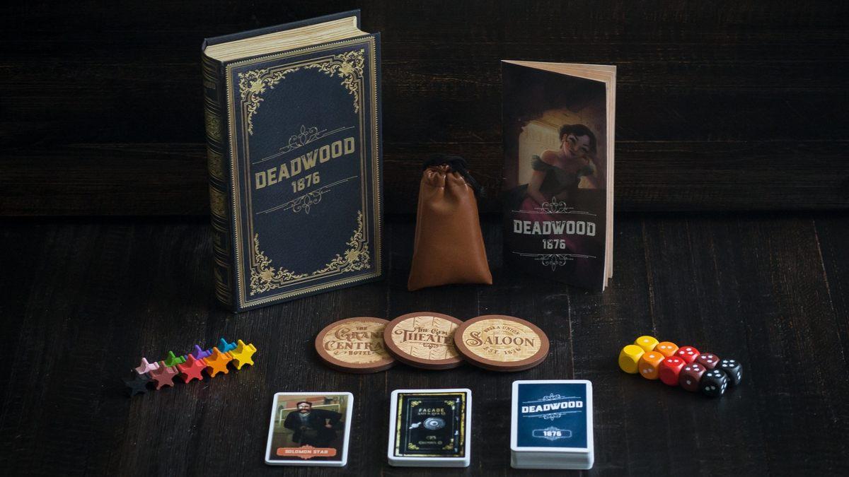 Deadwood 1876 Board Game