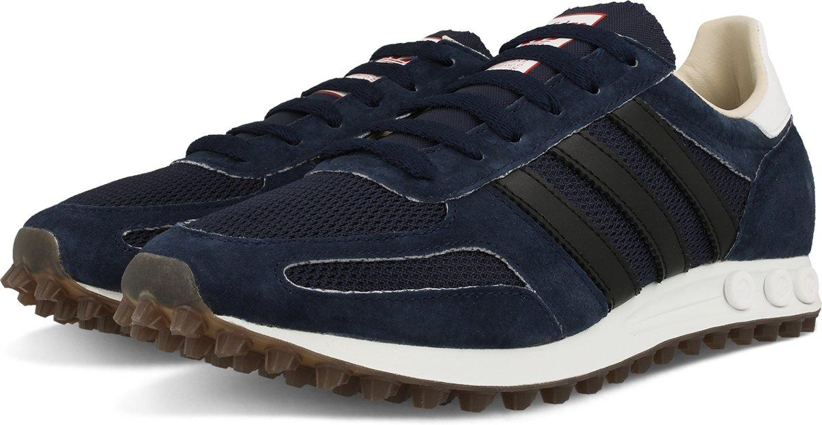 adidas la trainer navy leather