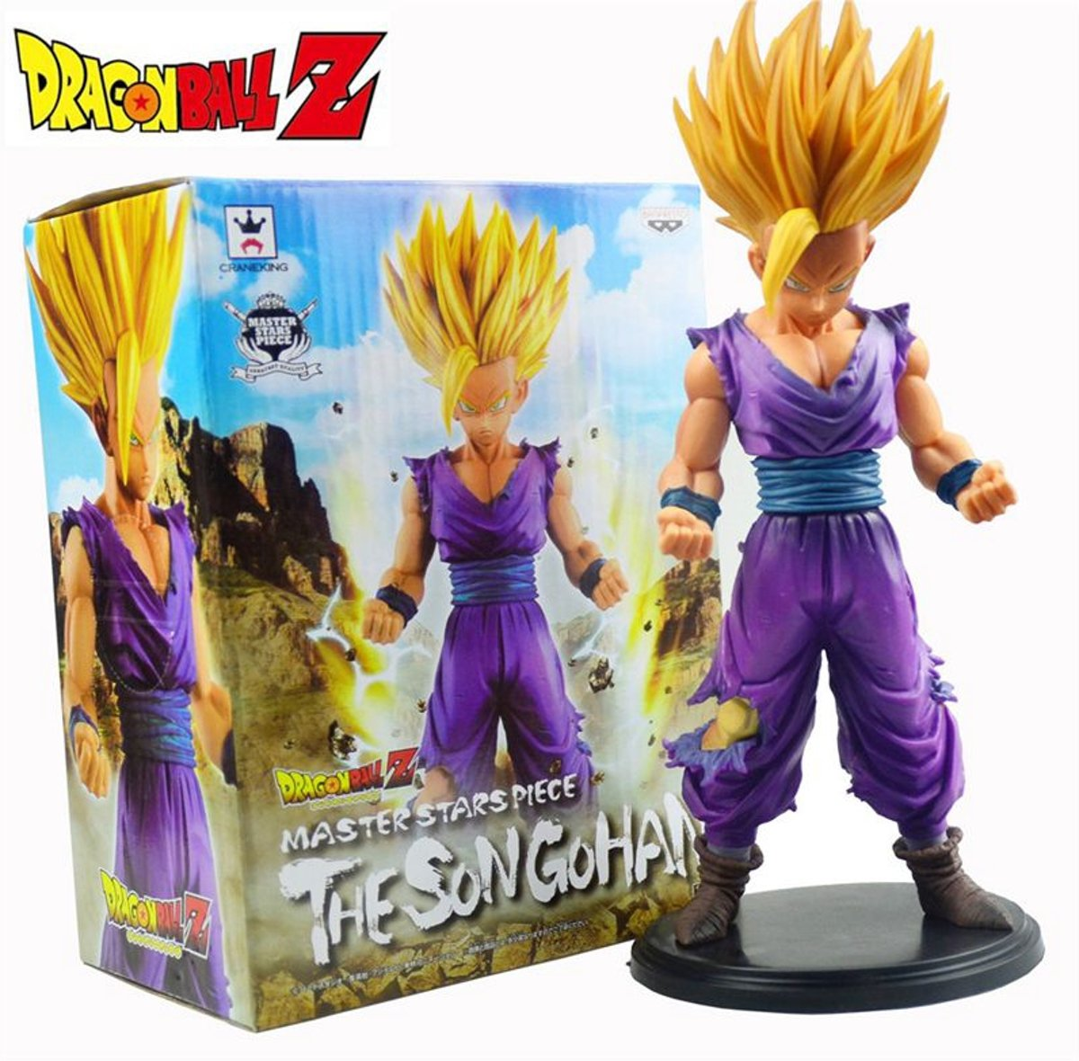 DRAGON BALL - Son Gohan Super Saiyan Action Figuarts (Bandai)
