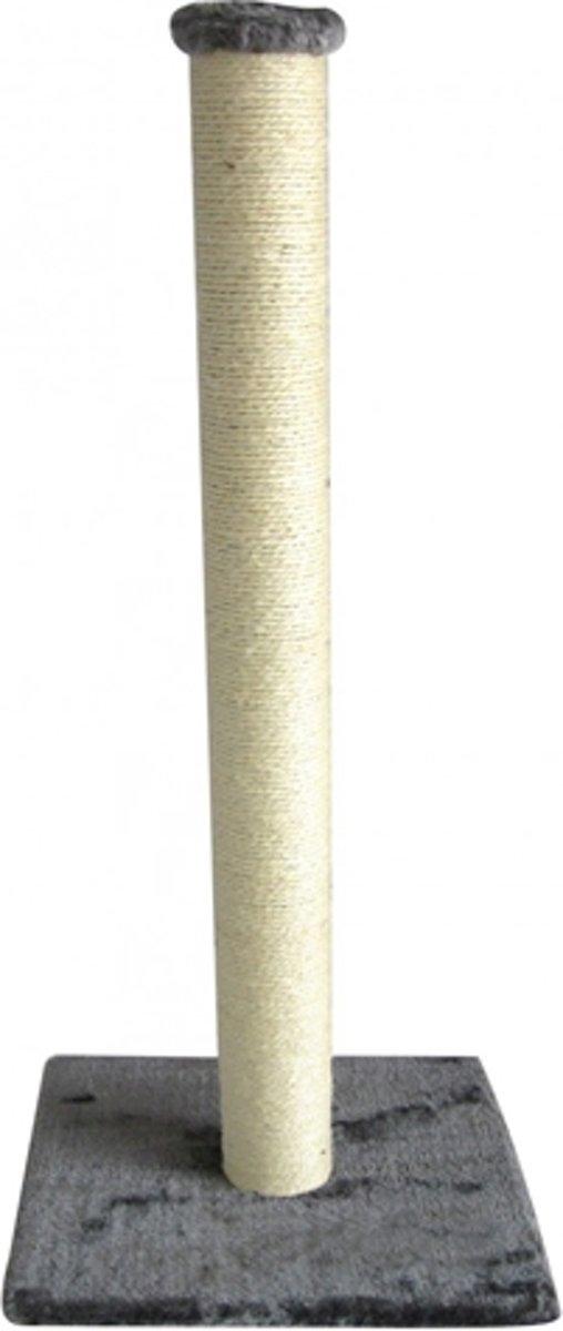 Ebi Classic-Eco High Post Krabpaal - Grijs - 40 cm x 40 cm x 90 cm