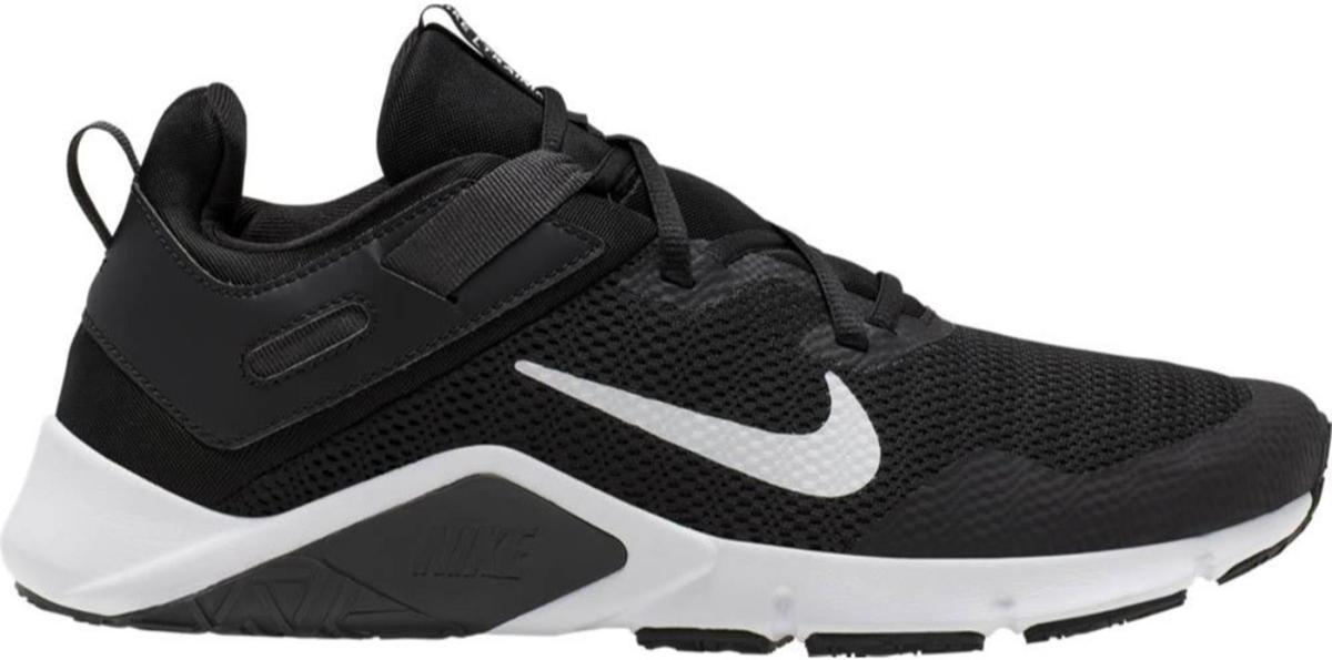 Nike Legend Essential Heren Sportschoenen BlackWhite Dk Smoke Grey Maat 46