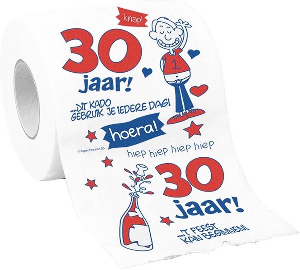 Bol Com Toiletpapier 30 Jaar Vrouw Merkloos Speelgoed