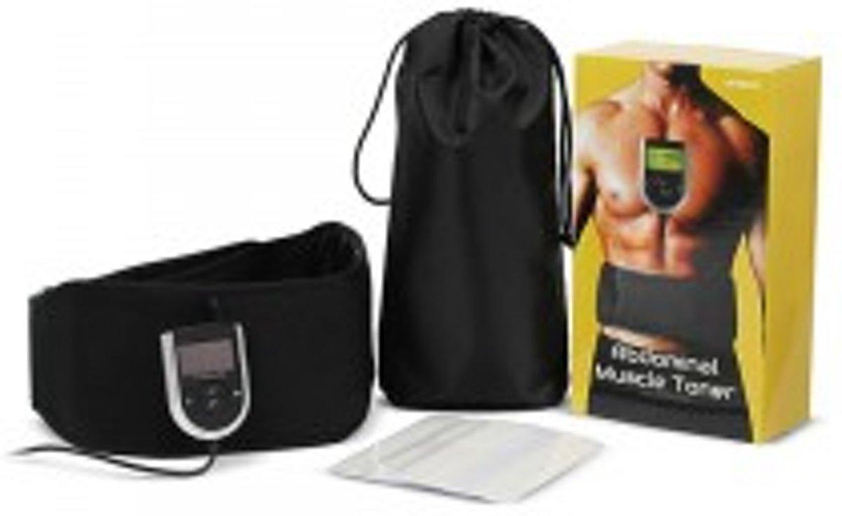 Foto van AbGym Belt - Elektrische Buikspiertrainer - WeightWorld NL