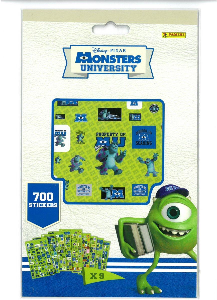 Panini - DisneyPixar 700 stickers van Monster High University