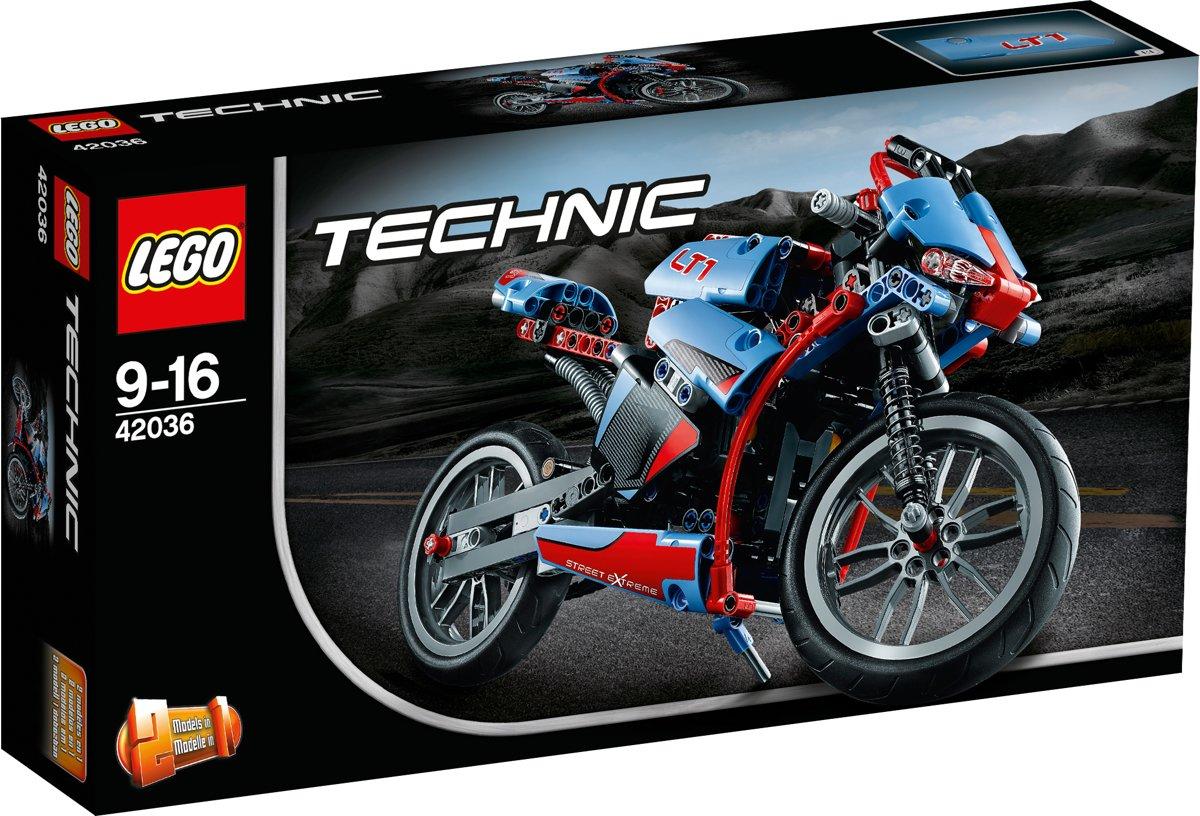 LEGO Technic Straatmotor - 42036