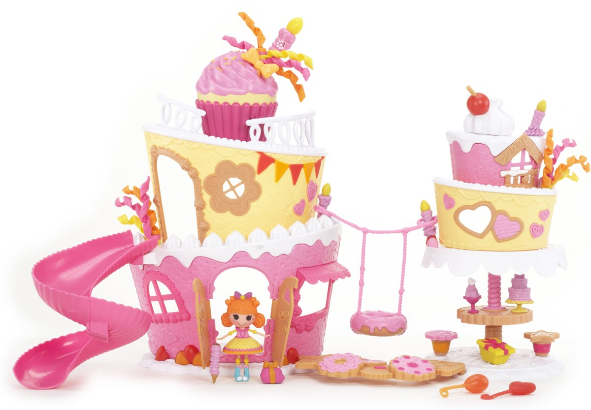 Mini Lalaloopsy Super Silly Party Cake Playset