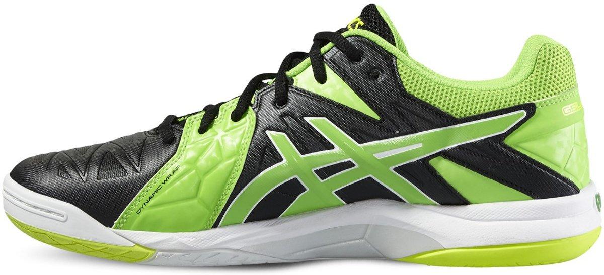 asics gel-sensei 6 zwart/groen/wit