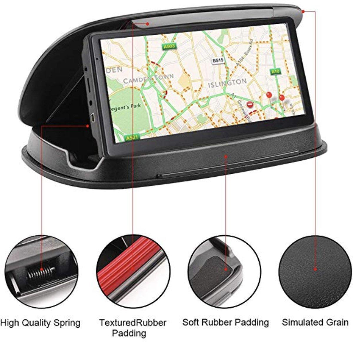Nieuw Luxe Auto telefoon houder - Dashboard houder , dashboard bevestiging ,  anti slip Beanbag -  autohouder ultra luxe voor Garmin Nuvi TomTom iPhone Samsung - Rheme kopen