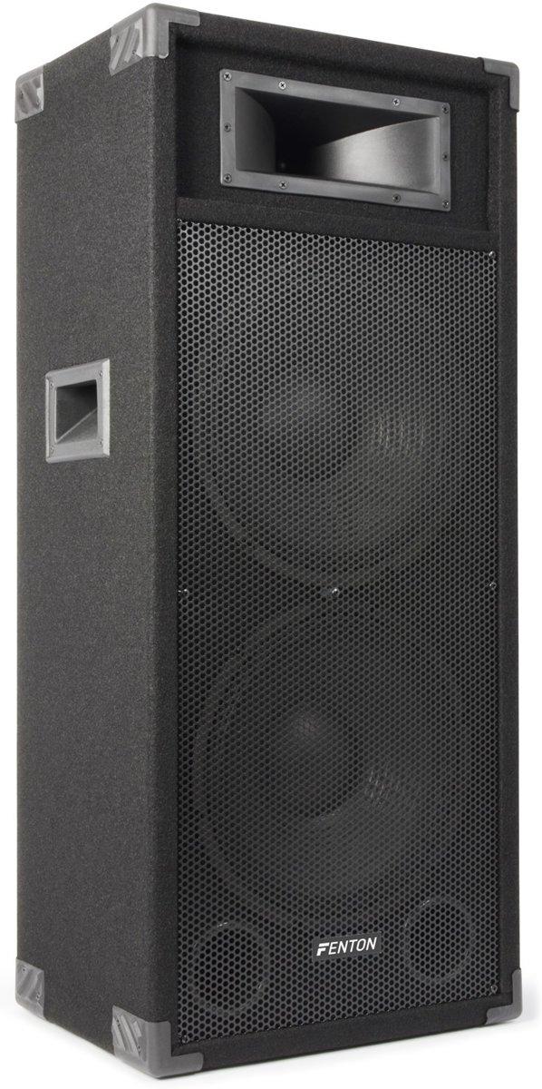 "Fenton CSB215 PA Speaker Actief 2x 15"" 1600W kopen"