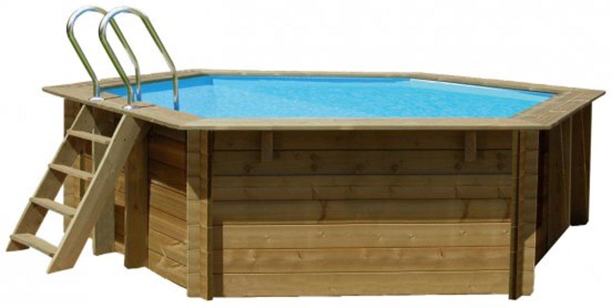 Gre Zwembad Normandie set grenen rond 412
